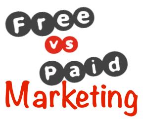free vs paid marketing