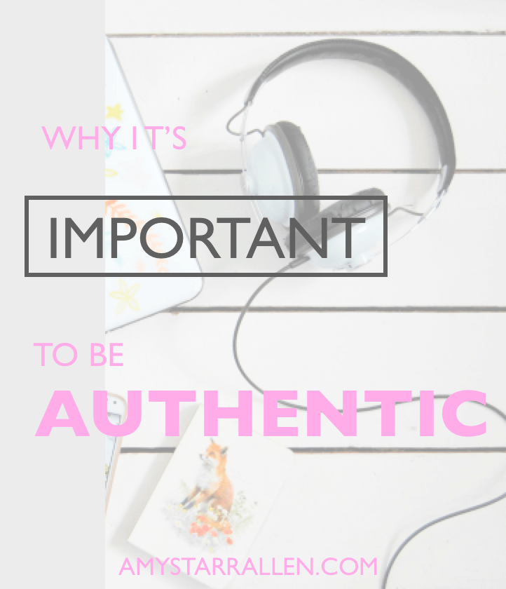 be authentic 1