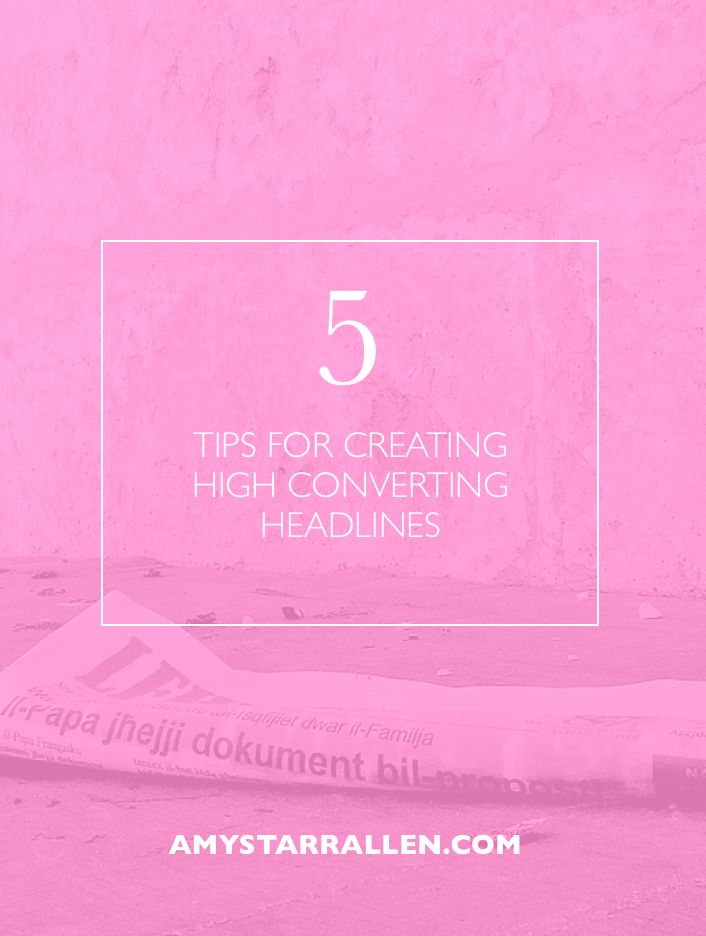 high converting headlines
