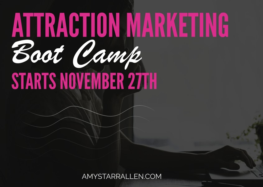 attraction marketing boot camp