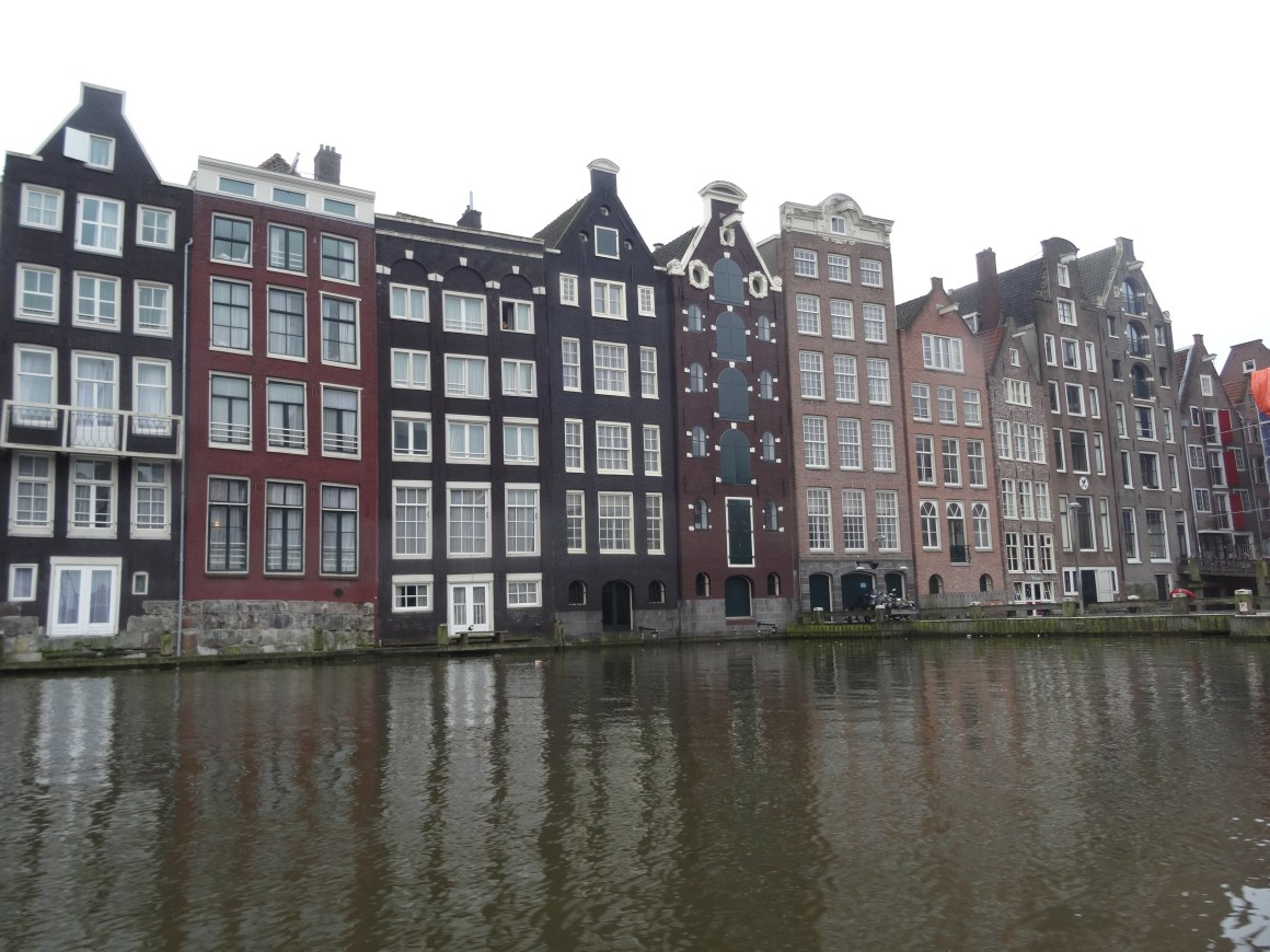 Amsterdam traditional housing and architecture