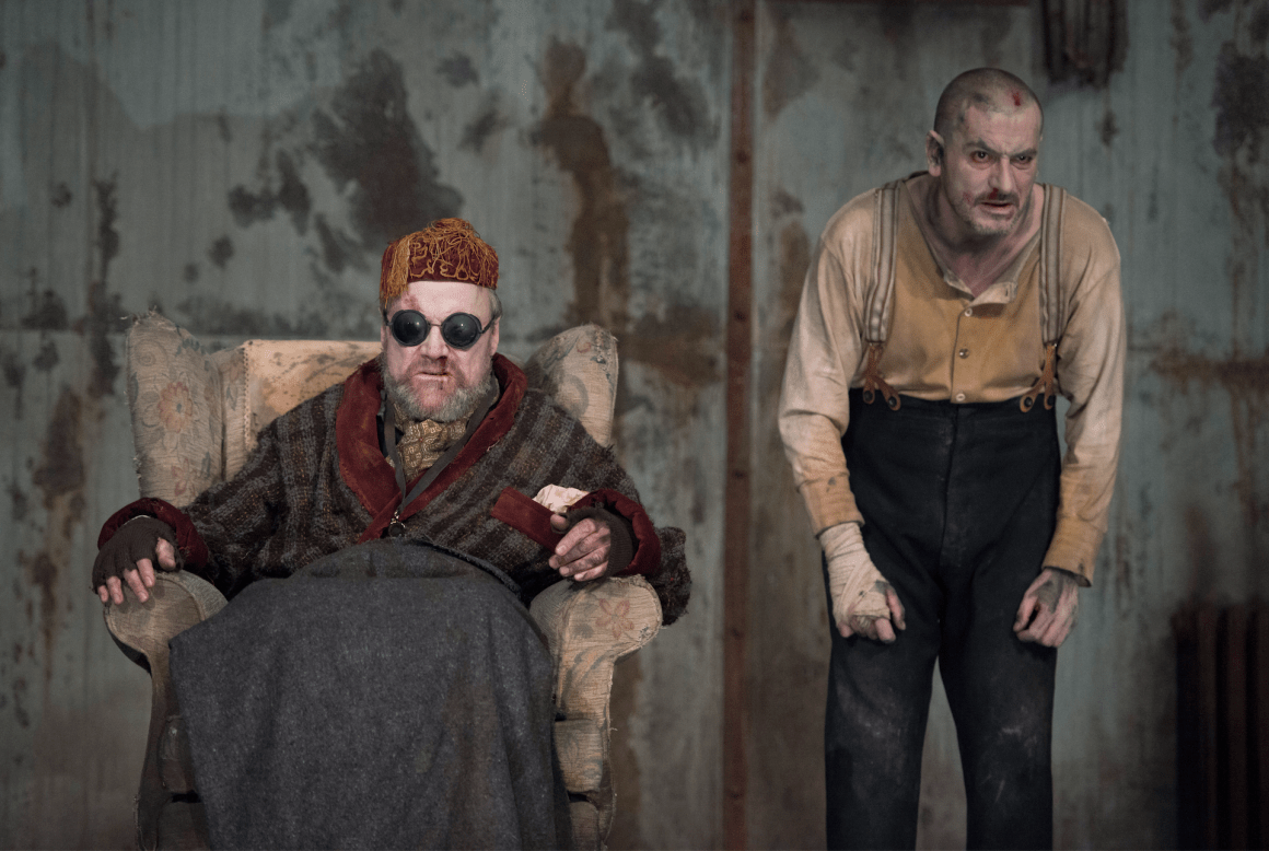 Endgame review starring Chris Gascoyne and David Neilson