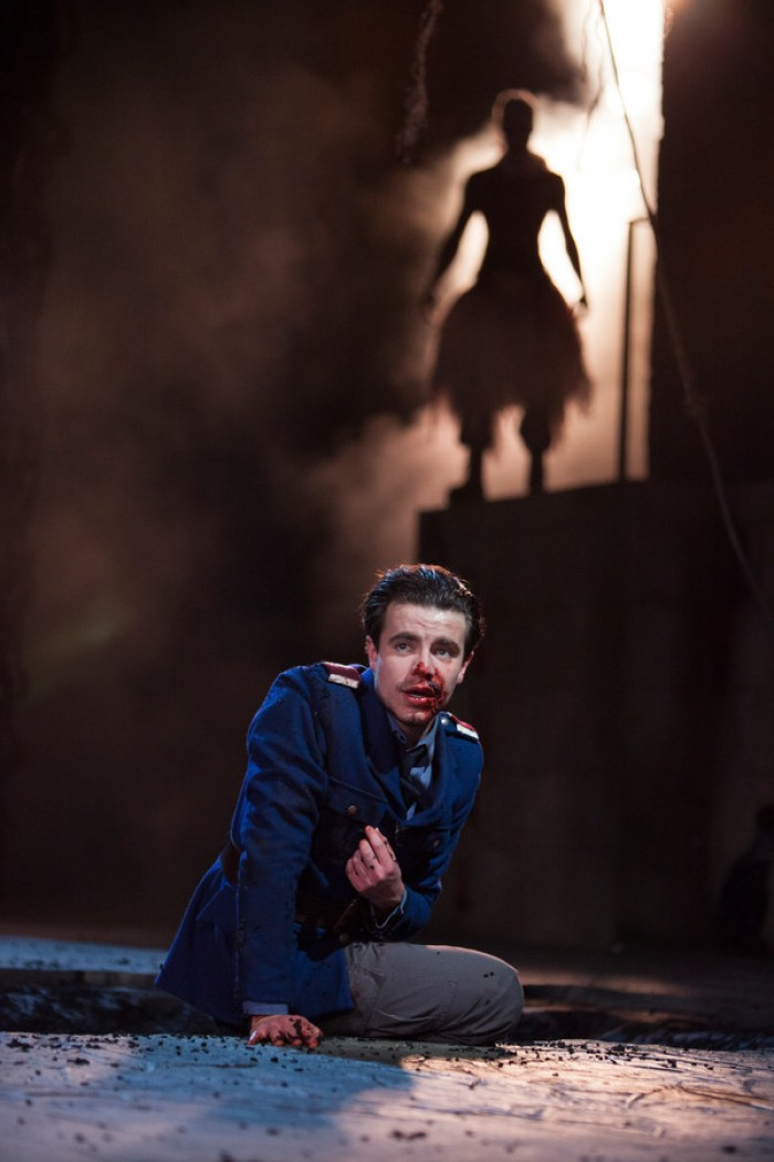 Oliver Johnstone as Iachimo in Cymbeline