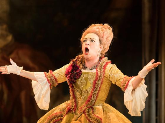 Sophie Stanton Fantastic Follies of Mrs Rich at the RSC