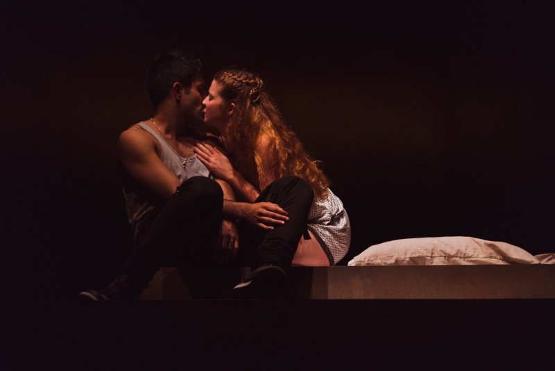 Karen Fishwick and Bally Gill in the RSC's Romeo and Juliet