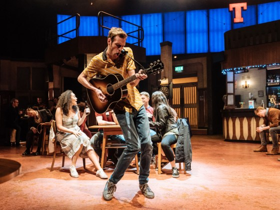 Tyler Collins Ensemble in Sunshine on Leith.-Photography by Manuel Harlan