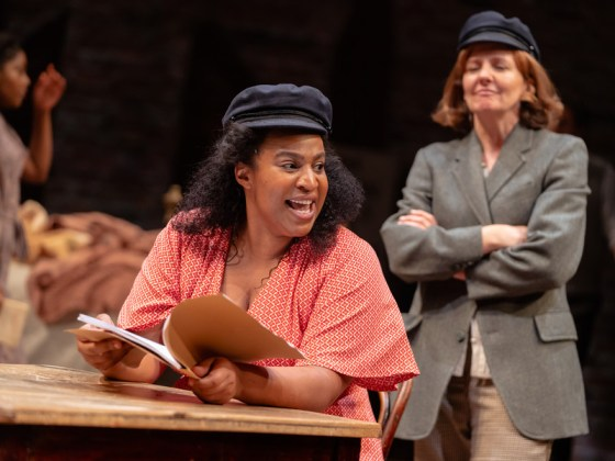 Miss Littlewood at the RSC review