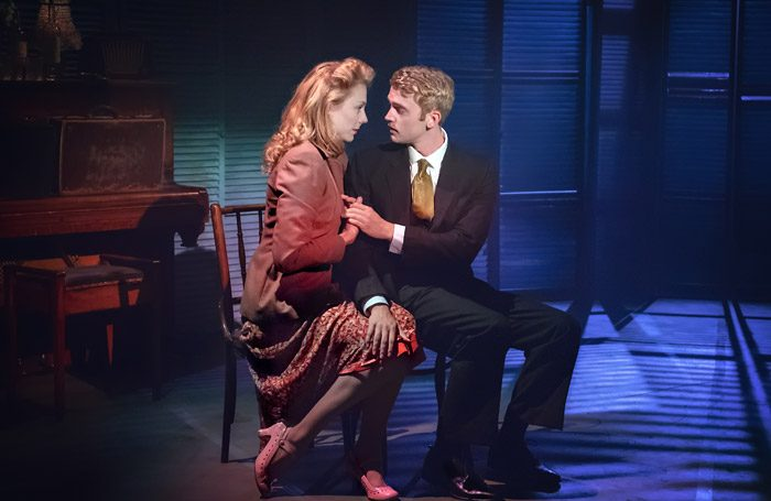 Kelly Price and Felix Mosse in Aspects Of Love at the Hope Mill Theatre