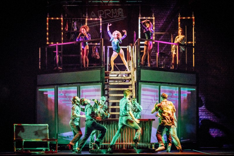 Flashdance, the musical. Theatre review at Belgrade Coventry