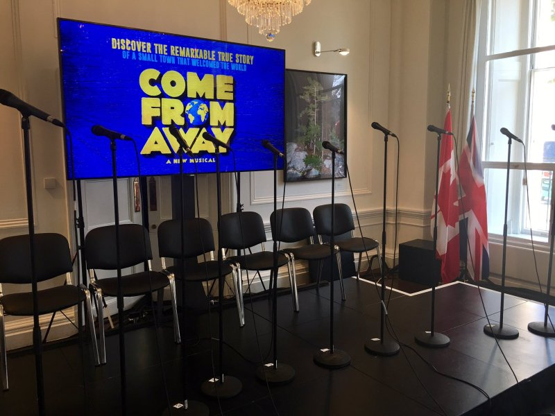 Come From Away UK Launch