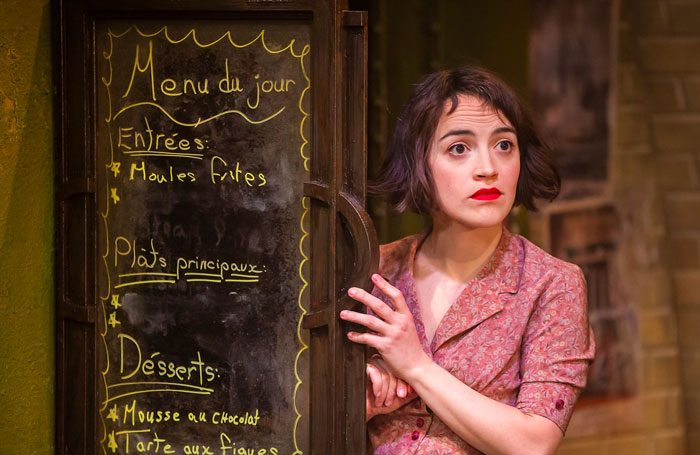 Audrey Brisson in Amélie the Musical at the Watermill Theatre. Photo credit: Pamela Raith