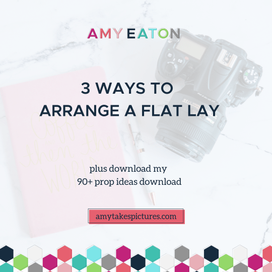 3 Ways To Arrange a Flat Lay feature image