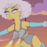 The Simpsons Predicted Lady Gaga's Super Bowl Performance