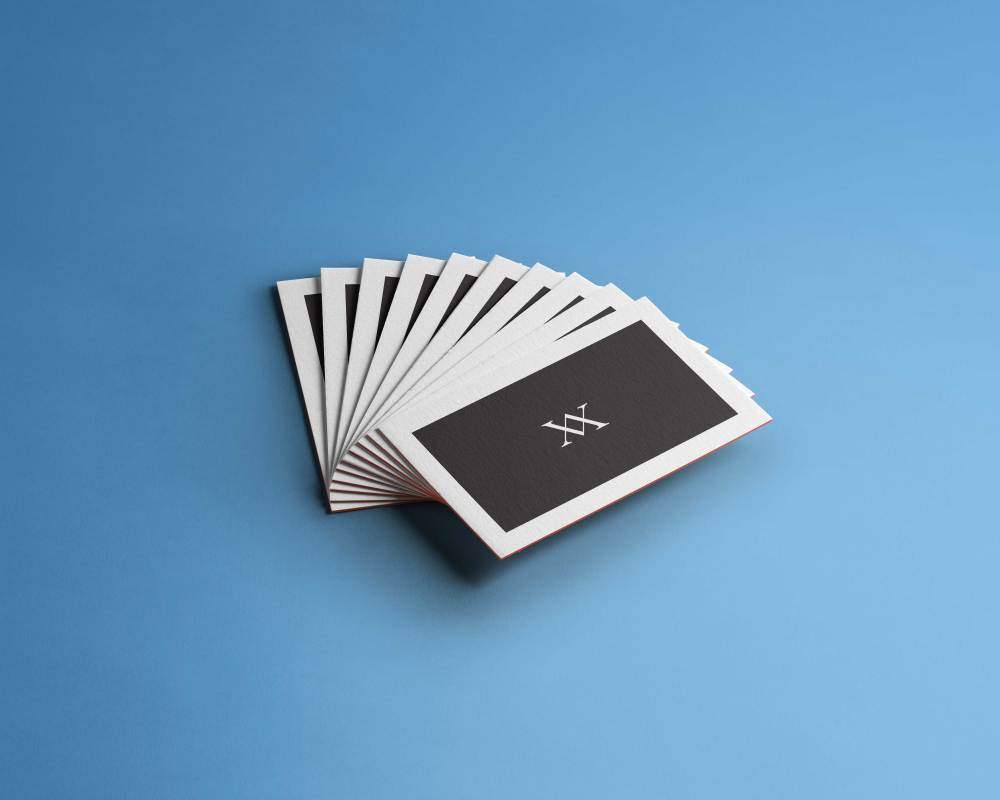 Business cards are marketing conversation makers!