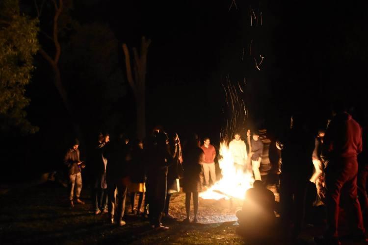 YUVA - Pro Bono Brand Development - Team Building Bonfire activities