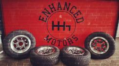 Enhanced Motors - Startup branding - the leading automotive garage in Auckland