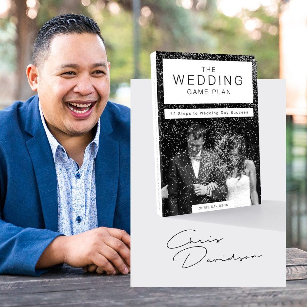 Chris Davidson realises one of his dreams of becoming a credible author and brand in the wedding industry.