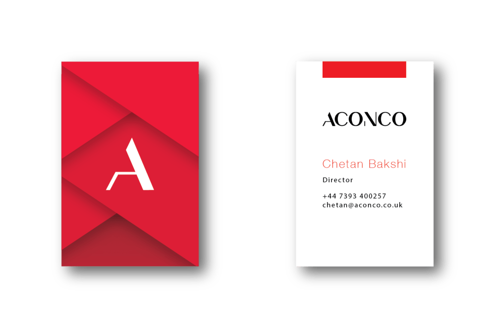 ACONCO Engineering's versatile branding designed by Amyth and Amit