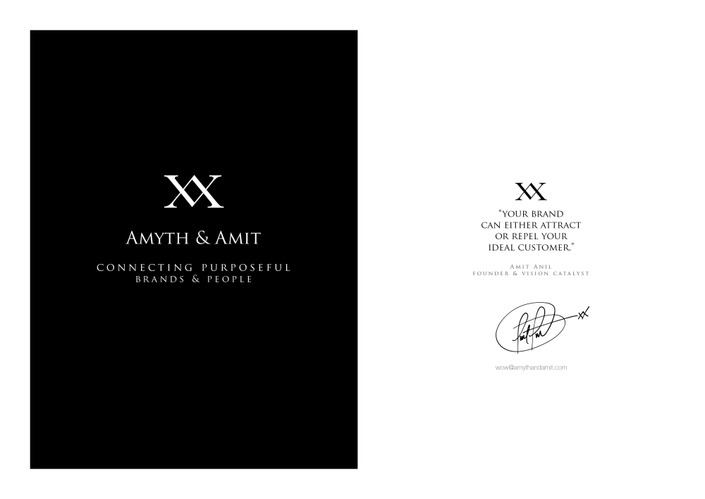 Amyth and Amit share insights into how we designed our branding.