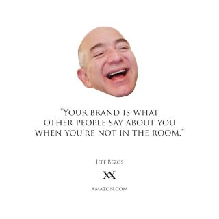In a world surrounded by branding, it still blows my mind that many businesses don't see the value in investing in their own branding.🤯 .  People are so used to consuming products, services and content from established brands that they don't realise that it's all working on them.😂👌🏽 .  Brand loyalty isn't something that can be bought. It's earned through a plethora of touch points. Established brands invest a lot into utilising several different ways to reel you in and get you emotionally attached. It could be the specific style of language, photos, videos, design, colours, fonts, influencers, celebrity endorsements, brand values, community contribution, products, staff, customer experience, website or app UX and UI, in-store decor and music used in their brand communication. There are several more ways brands utilise to build a strong emotional relationship with customers. .  Why do brands go through so much trouble to build a strong and long lasting relationship with customers, you ask? It's all about market share and longevity. I mean, think about it, how easily do you switch brands or products? Is it easy for other brands to win you over?? . The Apple and Android battle is a great example. One brand vs a whole sector of the smartphone industry. 🤔 .  Branding is so much more than just a logo! 🦅💯 .  #brandingtips #branding #brandingagency #quotestoinspire #quotesaboutlife #quoteoftheday #inspirationalquotes #brandstrategy #jeffbezos #jeffbezosquotes #amythandamit #smalltimebigtime #startupbranding #smallbusinesstips #brandingguru #thebrandman #MarketingisLife