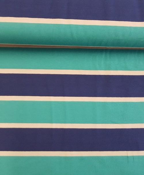 Jersey Lilly türkis/blau