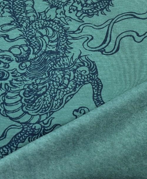 Sweat Dragon petrol/dunkelblau