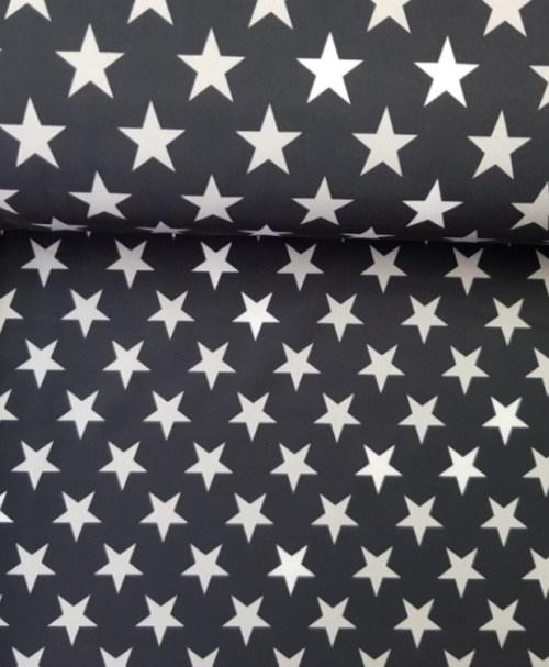 Nano-Softshell Sheldon Sterne schwarz/grau