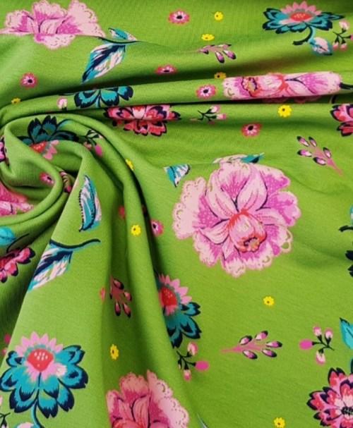 Sommersweat Flower grün