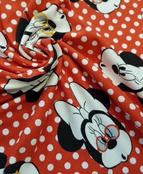 Lizenzjersey Minnie Dots rot/weiß