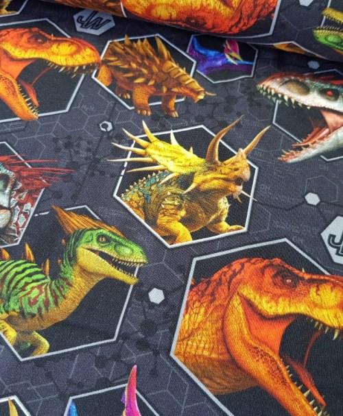 Lizenzjersey Jurassic World grau