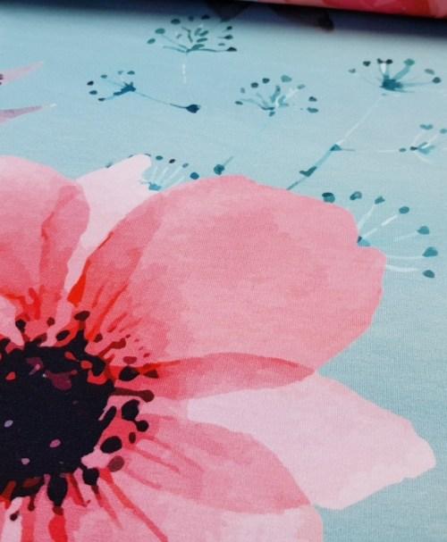 Sommersweat poppy flower