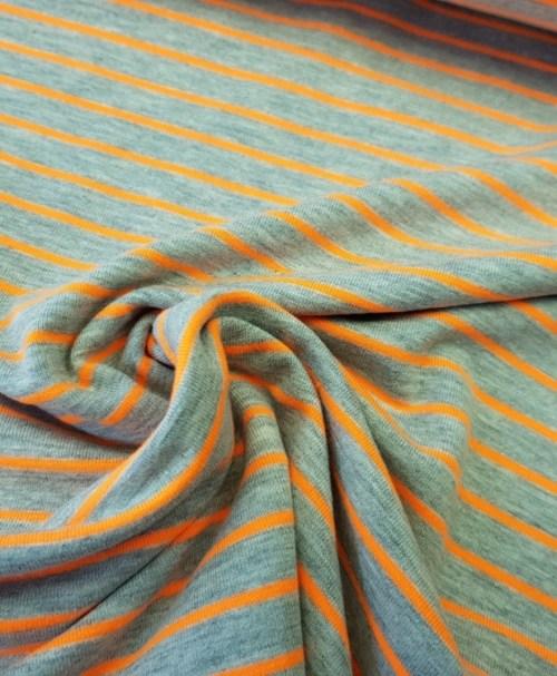 Jersey Streifen Neon orange