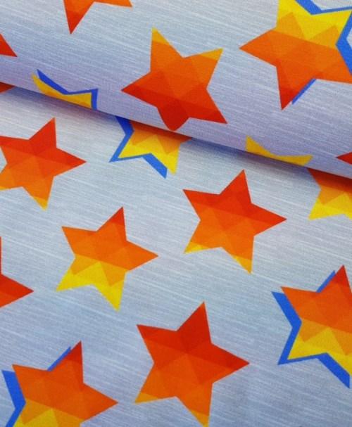 Jersey Stars & Stripes grau/orange