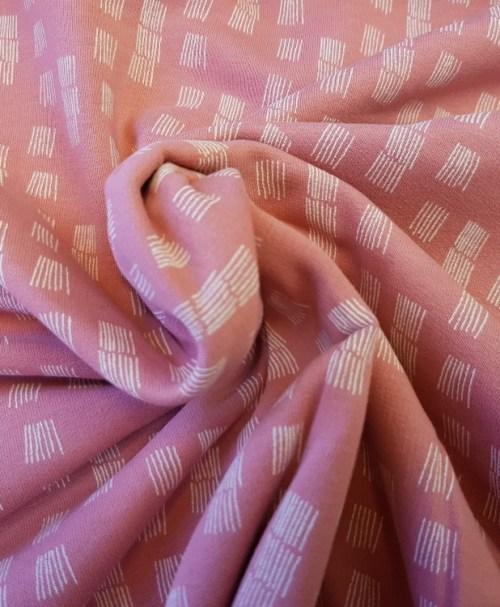 Soft-Sweat Funky Stripes altrosa