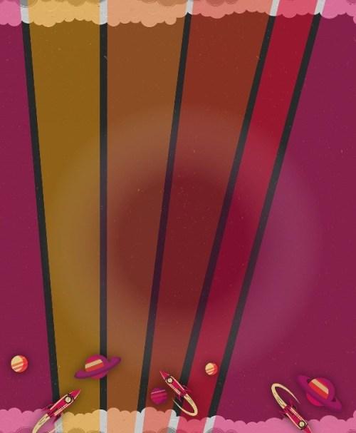 French Terry Galax Tales by Bienvenido Colorido erika/ocker