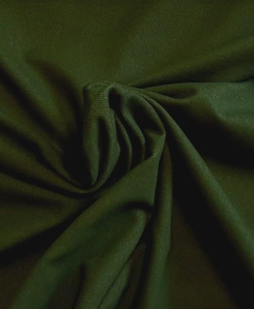 Jeansjersey dunkelgrün