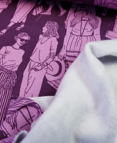 Sweat Fashion Girls aubergine