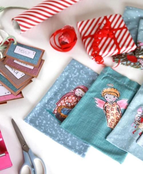 Lillestoff Slubjersey Rapport Geschenksäckchen