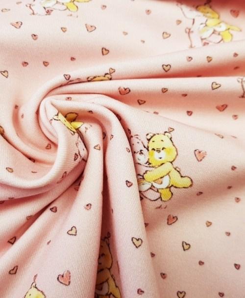 Lizenzjersey Glücksbärchies Herzen rosa