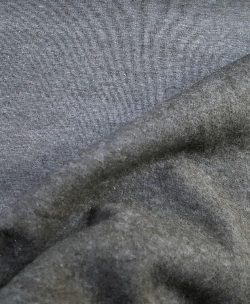 Sweat Melange Rauchblau