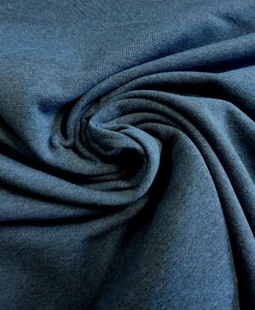 "Hilco French Terry ""Sweat Crop"" blau"
