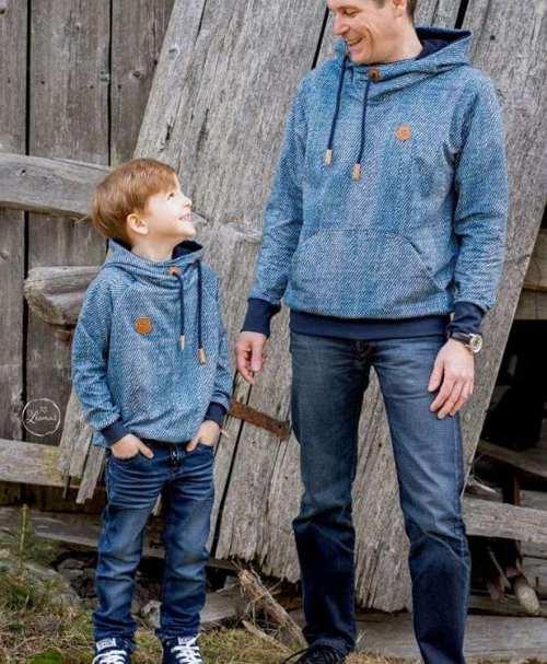 Sweatshirt Jeanslook