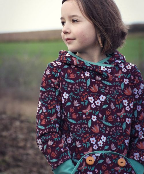 French Terry A Good Harvest by Käselotti – MEADOW violett