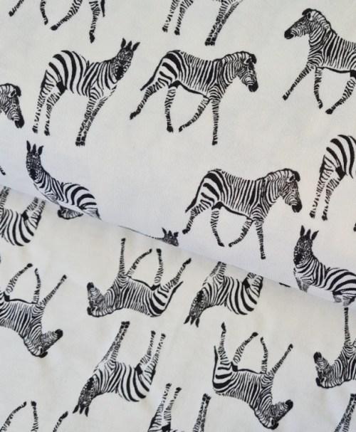 UV-Farbwechsel-Jersey, Zebra