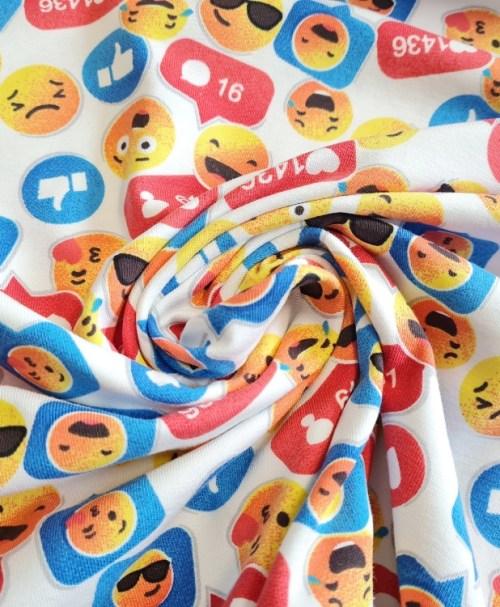 Jersey VSE DK Social Media, Emoji