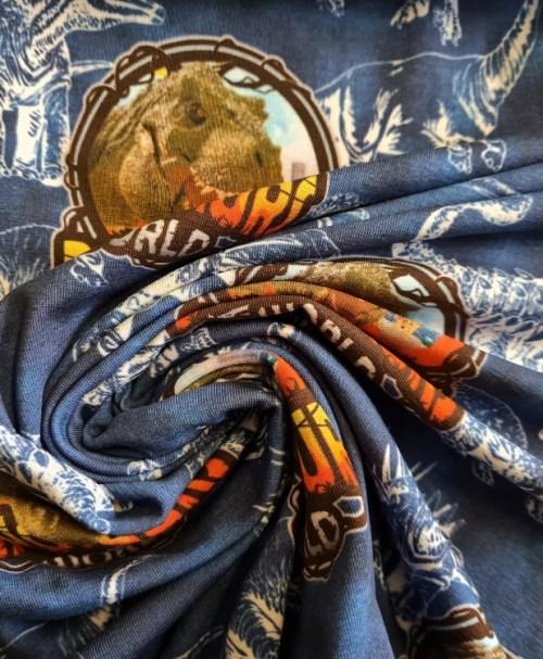 Jersey Dinosaur World, jeansblau