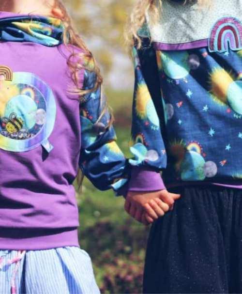 Amy&Luke Bio-Jersey Wonderful World