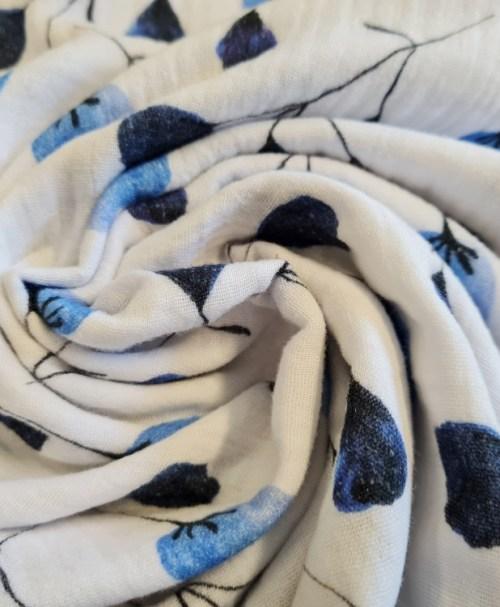 Fräulein von Julie Musselin blaue Blüten