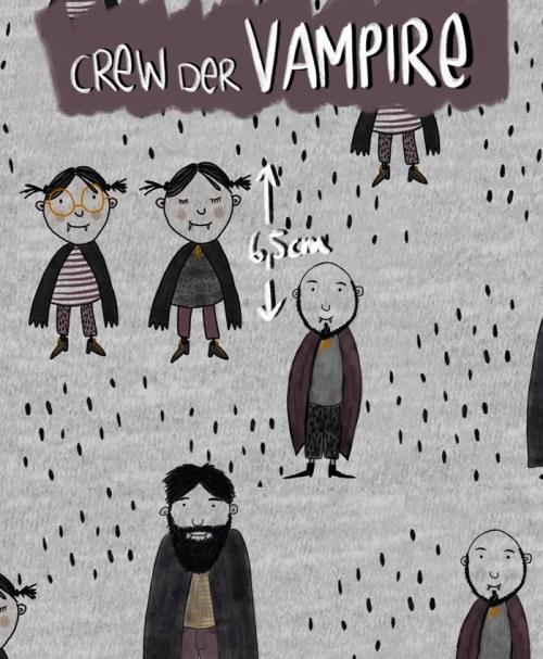 Lillestoff Jersey Crew der Vampire NEU
