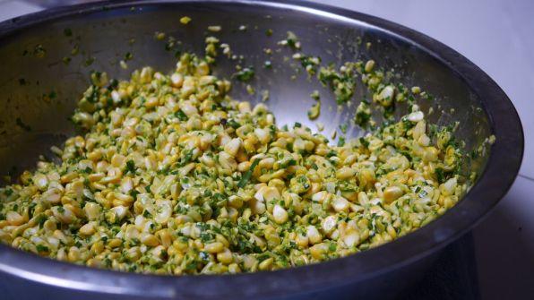 Bakwan jagung (raw)